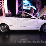 Mercedes E400 Cabriolet side from the launch in India