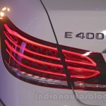 Mercedes E400 Cabriolet taillamp from the launch in India