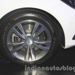 Mercedes E400 Cabriolet wheel from the launch in India