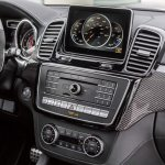 Mercedes GLE 63 AMG center console official image