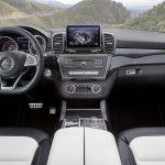 Mercedes GLE 63 AMG dashboard official image