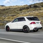 Mercedes GLE 63 AMG side official image