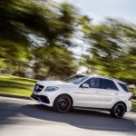 Mercedes GLE 63 AMG side profile official image