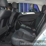 Mercedes GLE Coupe rear seat at the 2015 Bangkok Motor Show