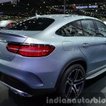 Mercedes GLE Coupe rear three quarter view at the 2015 Bangkok Motor Show