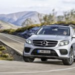 Mercedes GLE in motion official image