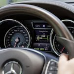 Mercedes GLE instrument cluster official image