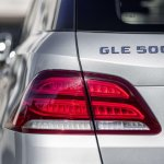 Mercedes GLE taillamp official image