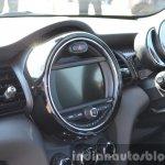 Mini Cooper S central screen