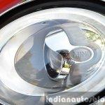 Mini Cooper S headlight detail