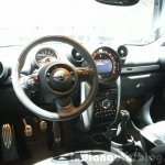 Mini Countryman Park Lane dashboard at the 2015 Geneva Motor Show