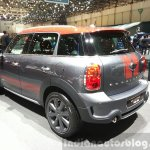 Mini Countryman Park Lane rear three quarter at the 2015 Geneva Motor Show