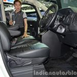 Mitsubishi Delica front seats at the 2015 Bangkok Motor Show