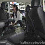 Mitsubishi Delica rear legroom at the 2015 Bangkok Motor Show