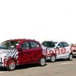 New Ford Figo Aspire front spied India