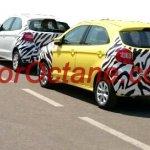 New Ford Figo Aspire spied India