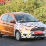 New Ford Figo LHD front spied