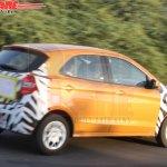 New Ford Figo LHD rear quarter spied