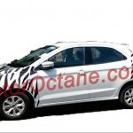 New Ford Figo side spied India
