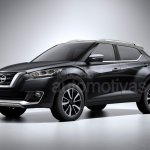 Nissan Kicks production version rendering