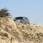 Nissan Patrol India showcase front three quarter(10)