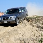 Nissan Patrol India showcase front three quarter(12)