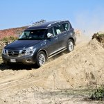Nissan Patrol India showcase front three quarter(15)