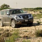 Nissan Patrol India showcase front three quarter(17)