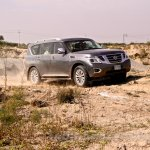 Nissan Patrol India showcase front three quarter(19)