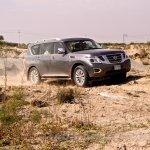 Nissan Patrol India showcase front three quarter(19)