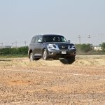 Nissan Patrol India showcase front three quarter(2)