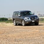 Nissan Patrol India showcase front three quarter(6)