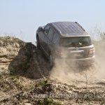 Nissan Patrol India showcase rear three quarter(7)