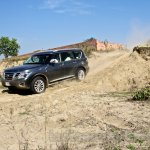 Nissan Patrol India showcase side(2)
