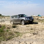 Nissan Patrol India showcase side(7)