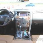 Nissan Patrol dashboard from its preview in India