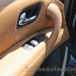 Nissan Patrol door handle from its preview in India
