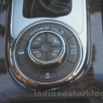 Nissan Patrol electronic 4WD controls from its preview in India