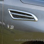 Nissan Patrol fender vent from its preview in India