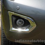 Nissan Patrol foglamp from its preview in India