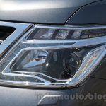 Nissan Patrol headlight from its preview in India