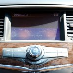 Nissan Patrol infotainment display from its preview in India