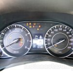 Nissan Patrol instrument cluster from its preview in India