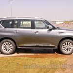 Nissan Patrol side profile from its preview in India