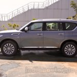 Nissan Patrol side view from its preview in India
