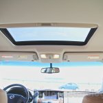 Nissan Patrol sunroof from its preview in India