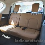 Nissan Patrol third row seat from its preview in India
