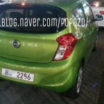 Opel Karl rear three quarter spotted in Korea