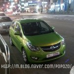 Opel Karl spotted in Korea