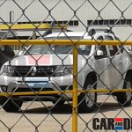 Renault Duster facelift front Brazil spied